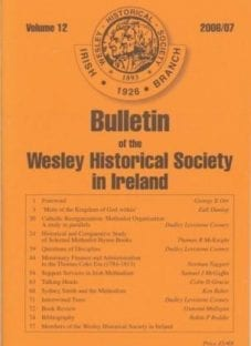 WHS Bulletin Volume 12