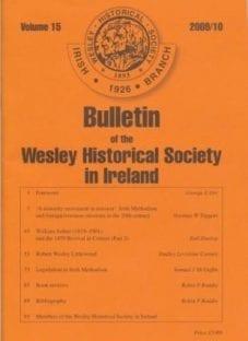 WHS Bulletin Volume 15